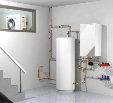 Verwarm uw huis met een Daikin warmtepompen